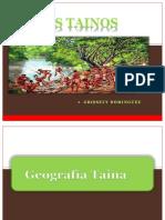 I. Los Tainos Historiosidad