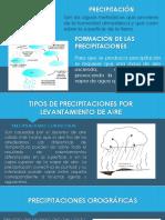 PRECIPITACIÓN-DIAPOS