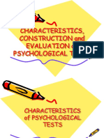 Psychometric Report