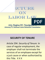 Lecture on Labor Law 3