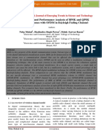 BER and SER Based Performance Analysis of BPSK and QPSK