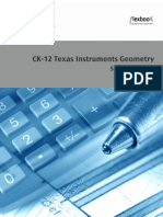 ck 12 texas instruments Geometry