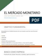 El Mercado Monetario