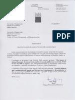 Pismo Potpore Uni Ljubljana 2