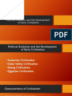 Political Evolution and the Development (1)