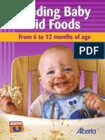Feeding Baby Solid Foods 1