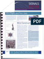 Wire Ropes & Their Uses