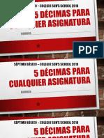5 Decimas