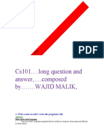CS101 SHORT AND LONG QUESTIONS SOLVED...by wajid malik.pdf