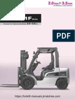 Nissan Forklift  Diesel 2-3,5 ton Service Manual.pdf