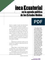 Guinea Ecuatorial en la agenda política USA