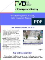 TVB Bomb Cyclone Storm 2018