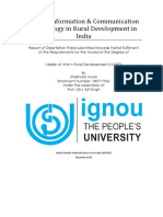 MARD Role of ICT in Rural Development 180777963 Shashank.pdf