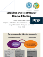 Diagnosis and Treatment of Dengue Infection