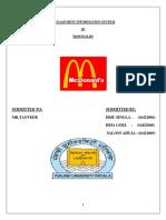 MIS in McDonalds.docx