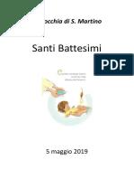 Libretto Battesimo