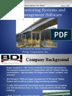 Bridge monitoring systems