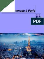 Une Promenade à Paris-