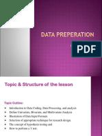 BRM Data Preperation