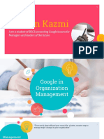 Google in management world
