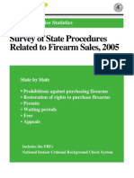 State Procedures Related to Firearm Sales