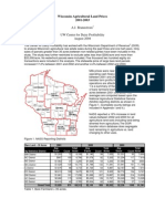 Wisconsin Agricultural Land Prices