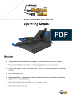 HPN Black Series Clamshell Heat Press Instructions