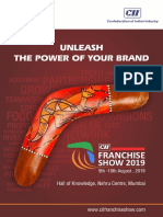 CII Franchise Show 2019 - Flyer