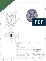 Wheel Handle for Furnace