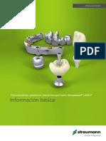 155.822 Straumann Cares Información Básica Prótesis Implantosoportada