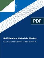 Self-Healing Materials Market Size to Reach USD 8.23 Billion by 2026