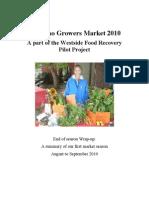 Report on Kitsilano Growers Market Final