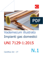 Vademecum Illustrato Impianti Gas Domestici N. 1 - UNI 7129-1 2015 - Preview