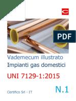 Vademecum Illustrato Impianti Gas Domestici N. 1 - UNI 7129-1 2015 - Preview