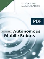 Introduction to Autonomous Mobile Robots - Siegwart Nourbakhsh