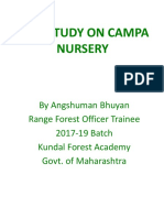 Presentation on Campa Nursery
