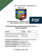 Informe de Analítica de pH
