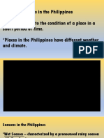 Weather Patterns in the Philippines