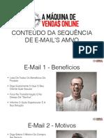 AMVO - M4A6 - Conteudo Da Sequencia de E-Mails AMVO