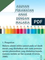 Asuhan Keperawatan Anak Dengan Malaria