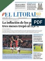 El Litoral Mañana 17-04-2019