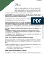 EDUCACIÓN | Resolución Admision 0-3 años 2019-2020