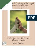 The Casa Bulletin - October 31, 2010