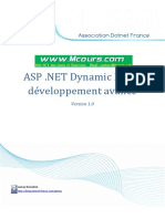 ASP NET Dynamic Data Developpement Avance