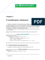 Chapitre 1 Introduction a La Modelisation Objet