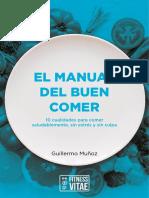 Manual Del Buen Comer - Fitness Vitae