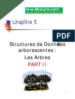 Chapitre5 Structures de Donne Esarborescentes Les Arbres Partie II