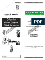 Configuration Windows Server 2000 DNS Active Directory