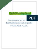Comprendre Les Services d Authentification Et de Profil ASP.net Ajax