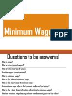 Minimum Wages (1)